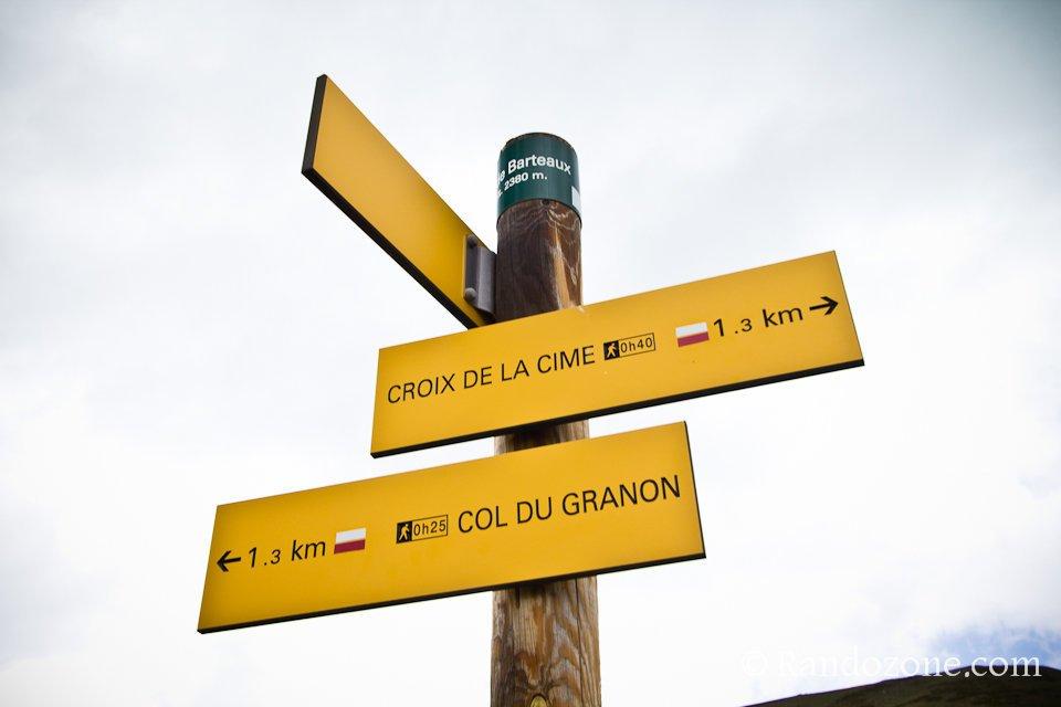 Col de Barteaux 2380 m
