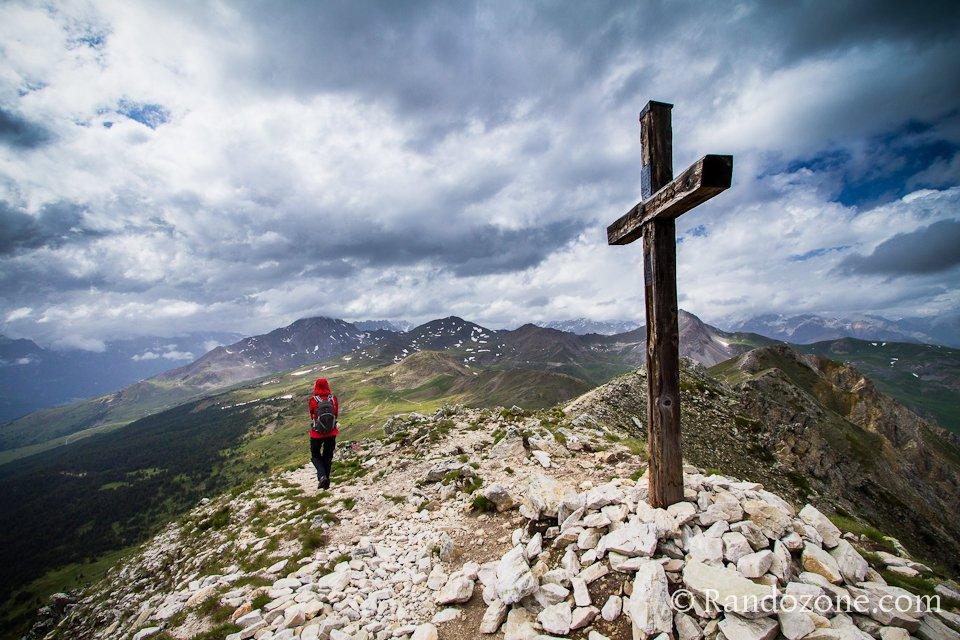 Panorama à la Croix de la Cime