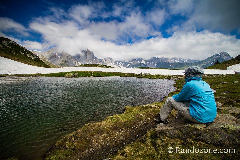 Petite pause au bord du lac d'Ansabère