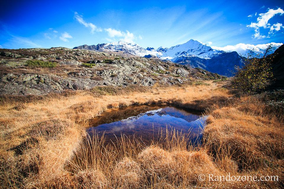 Reflet sur le plateau de Saugué