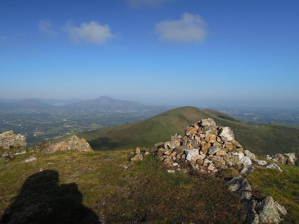 Au-dessus d'Ainhoa, Pays Basque