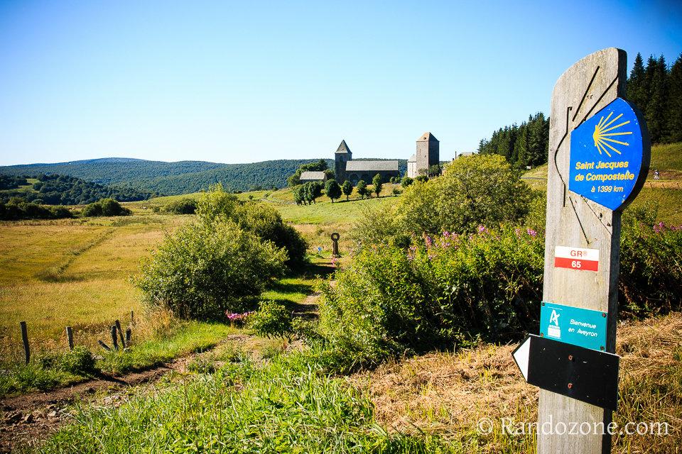 Randonnée depuis Aubrac sur le GR 65