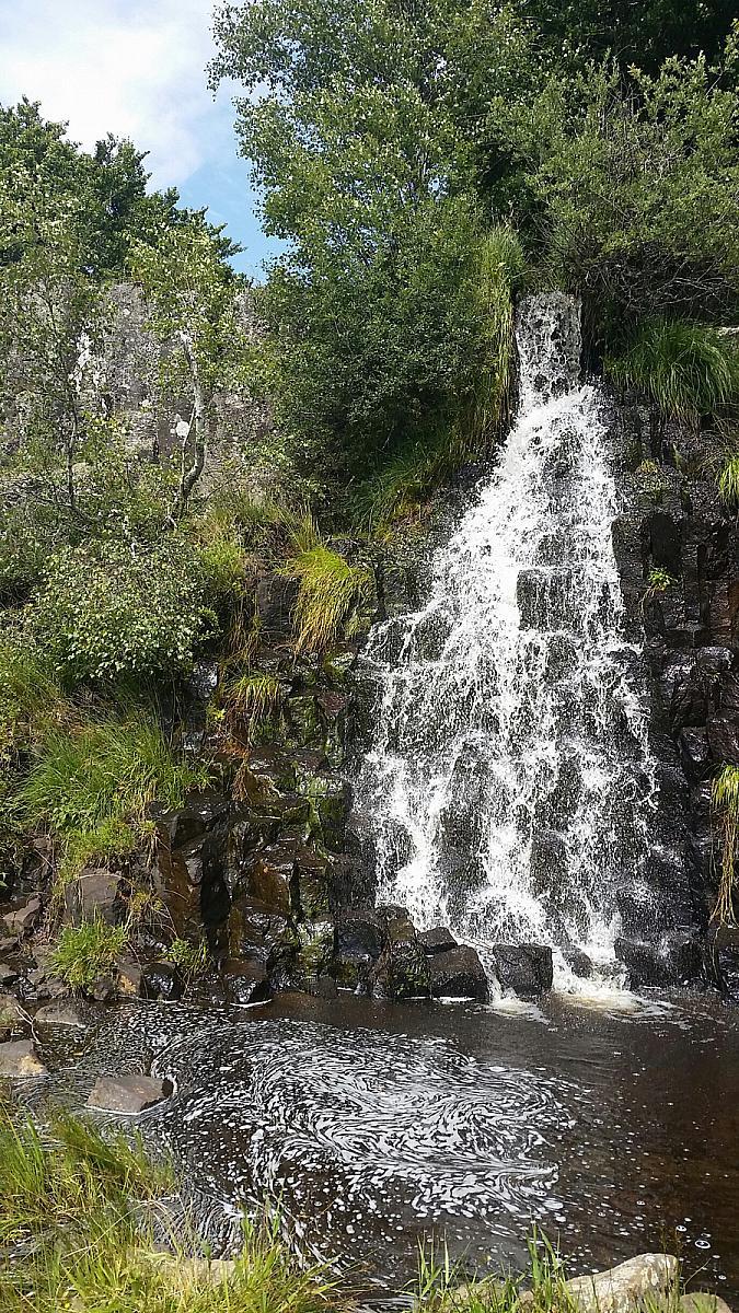Cascade du Saltou, Aubrac