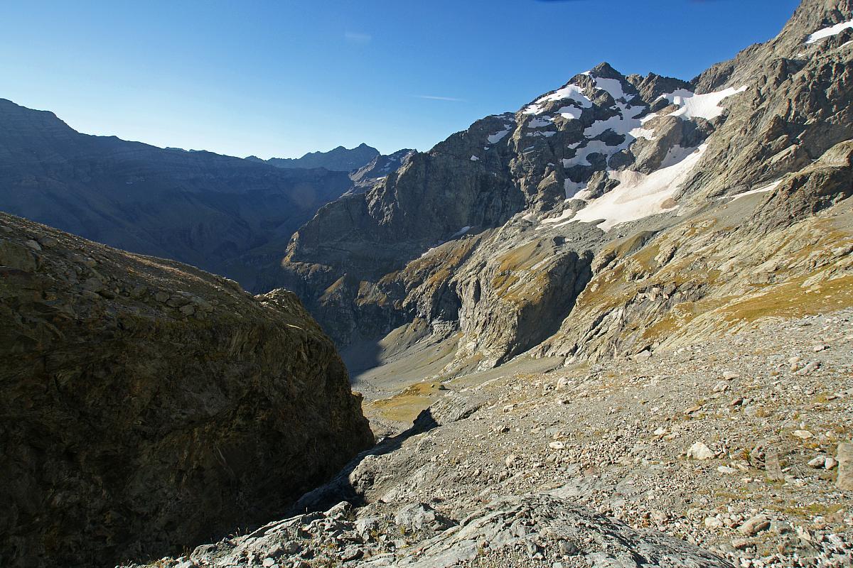Randonnée haute Montagne au Col du Loup de Valgaudemar