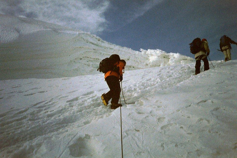 Alpinisme : Haute route du Mont Rose en août 2003