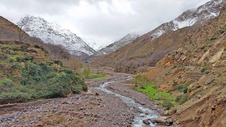 Vallée où se trouve Imlil