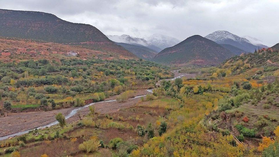 Dans les montagnes du Haut Atlas