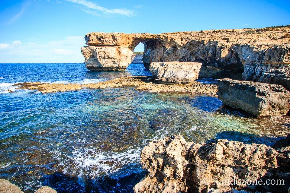 Azure Window sur l'île de Gozo
