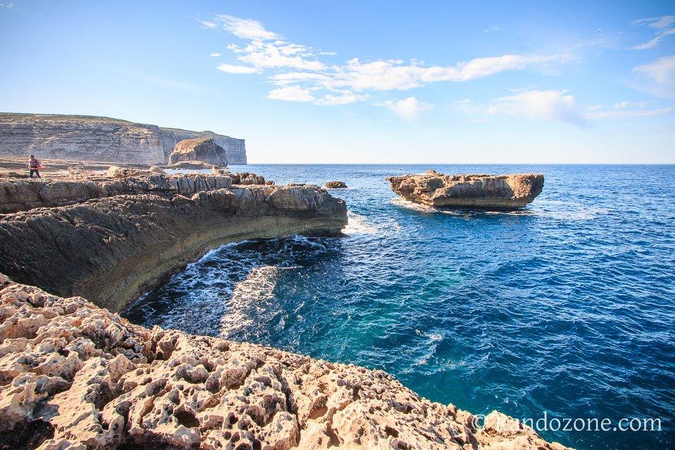 Balade en bord de mer sur Gozo