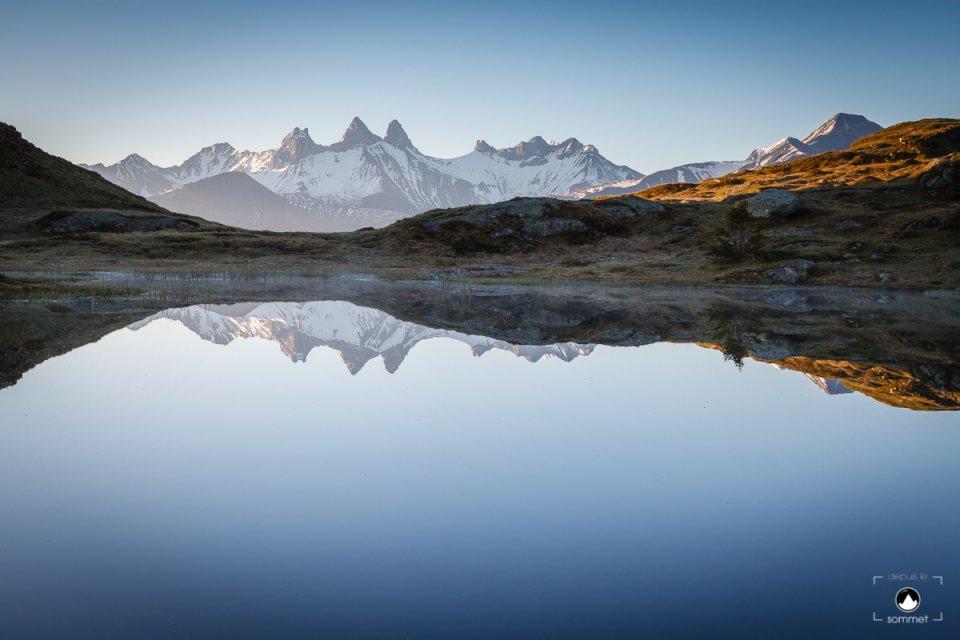 Reflet sur le lac Potron