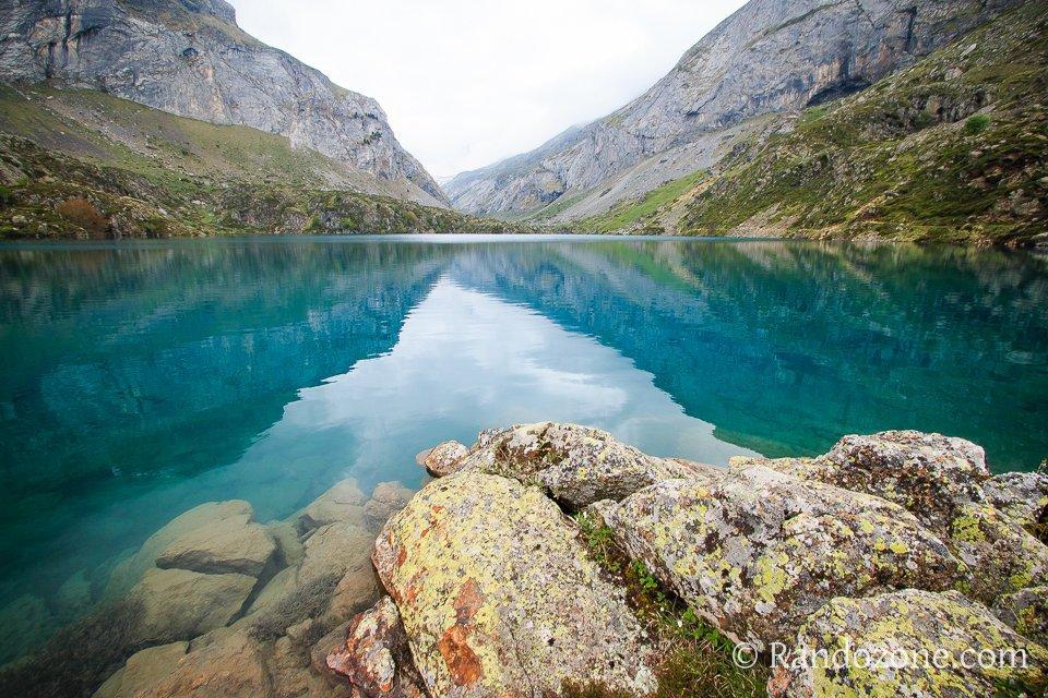 Le lac des Gloriettes déborde