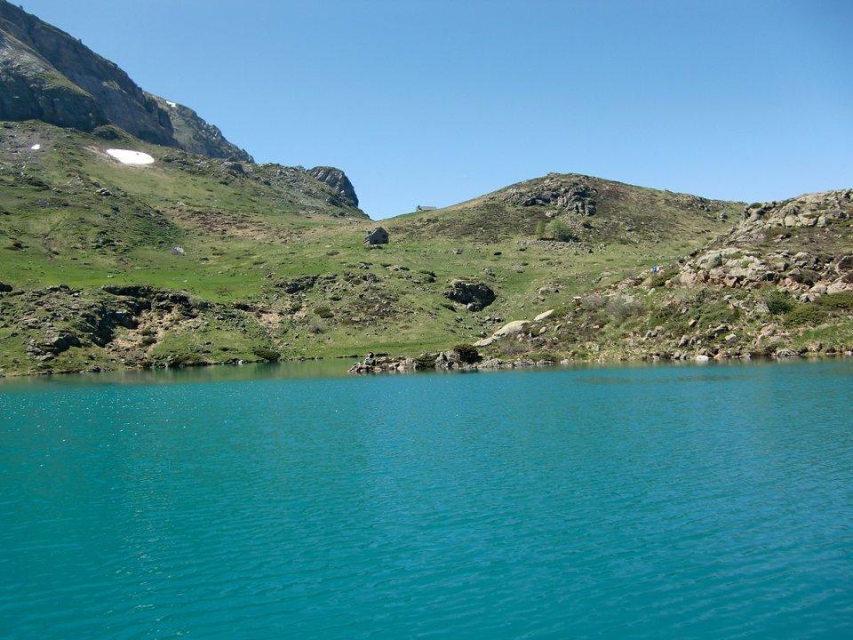 Azur au lac des Gloriettes