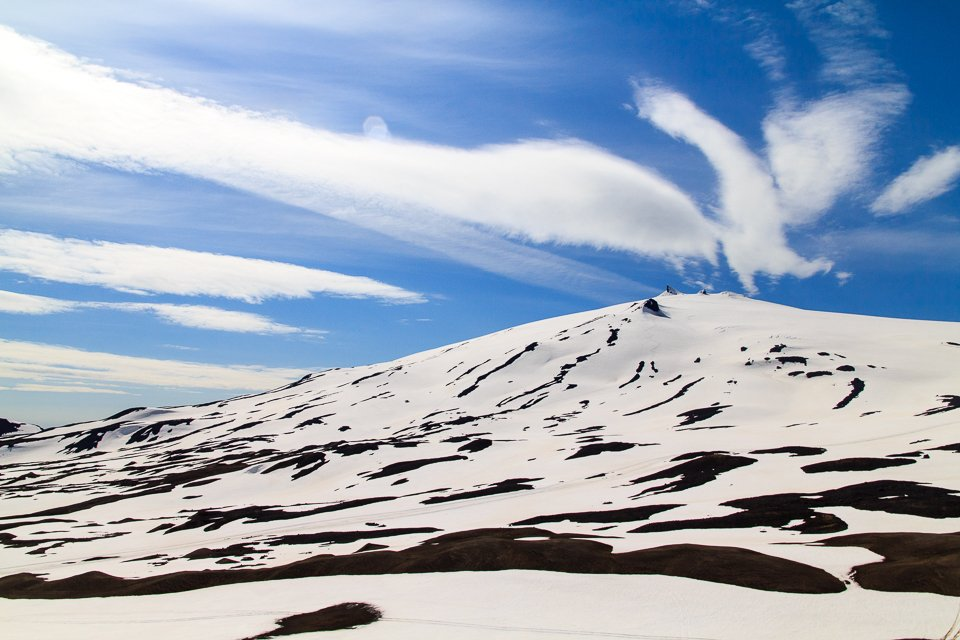 Magnifique vue sur le Snæfellsjökull
