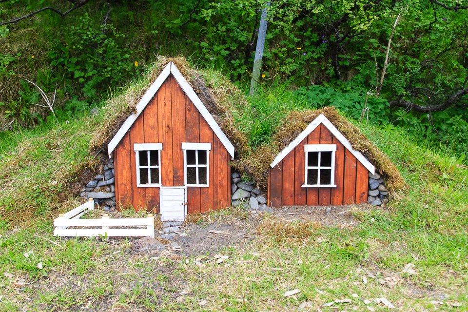 Jolies maisons d'elfes