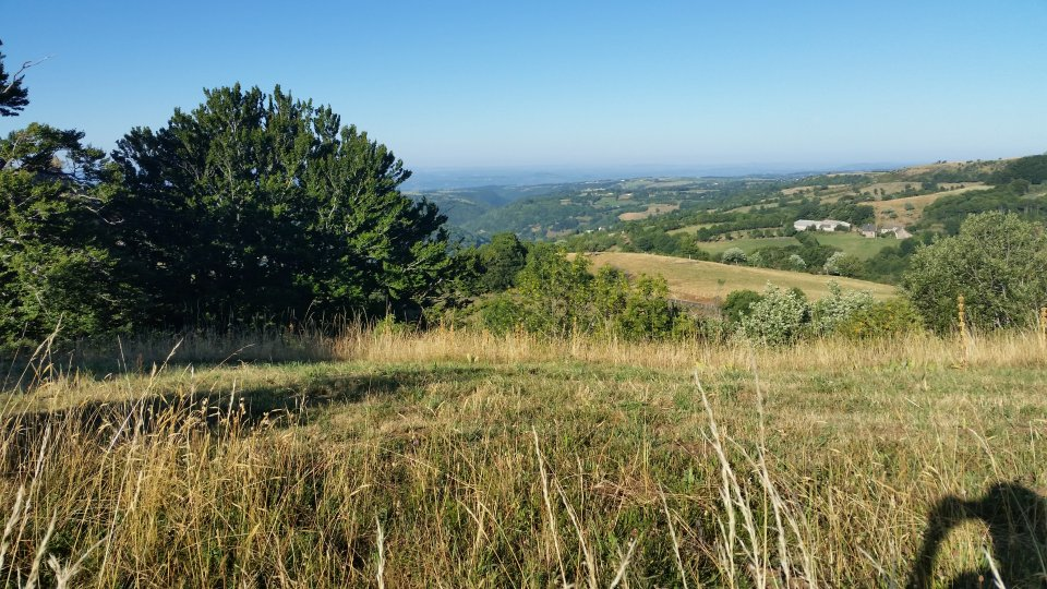 Superbe vue sur la vallée