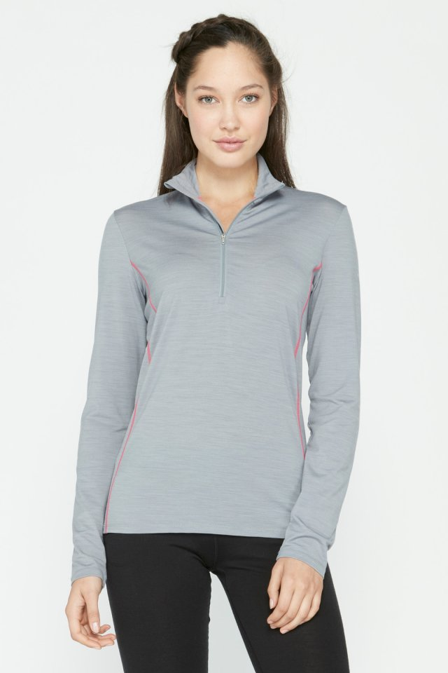 Tee-shirt Icebreaker Aero Long Sleeve Half Zip