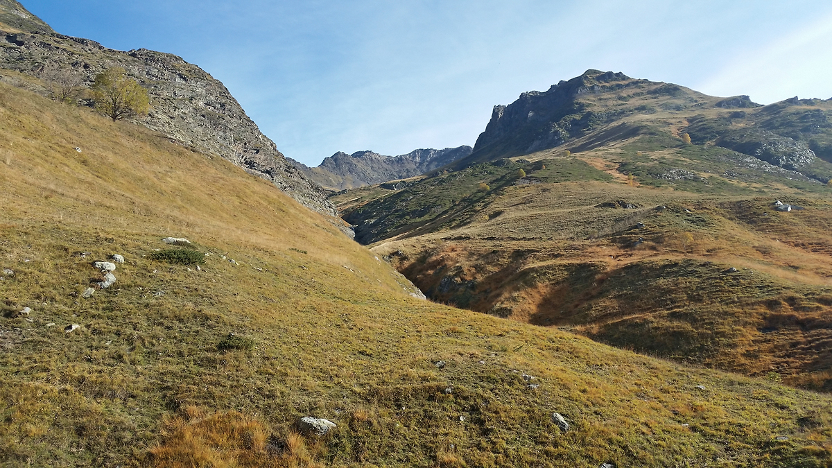 Les Pyrénées aux couleurs de l'automne