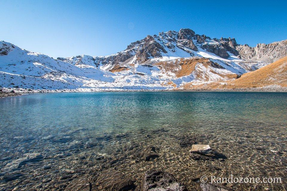 Lac Merlet inférieur à 2400 mètres