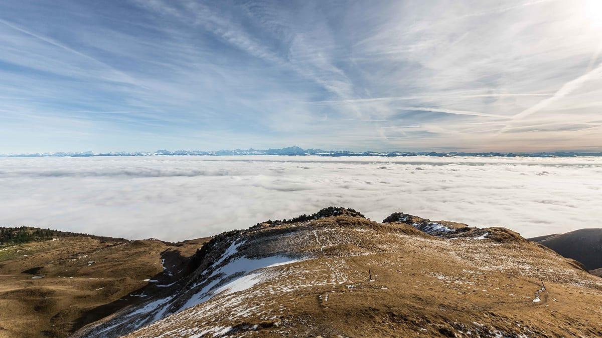 Mer de nuages au Reculet