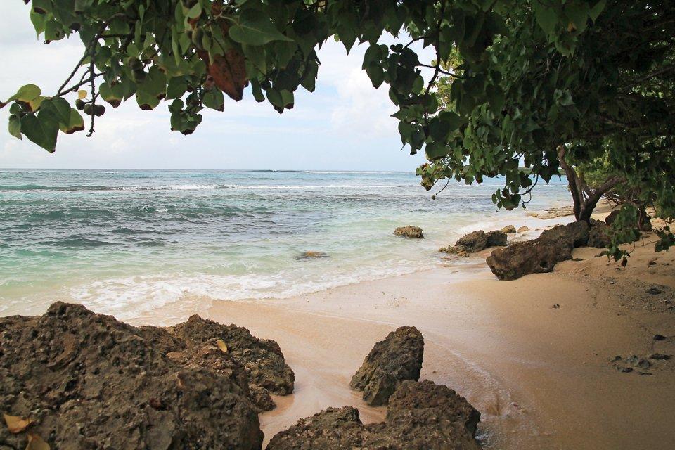 Le long de la plage du Souffleur
