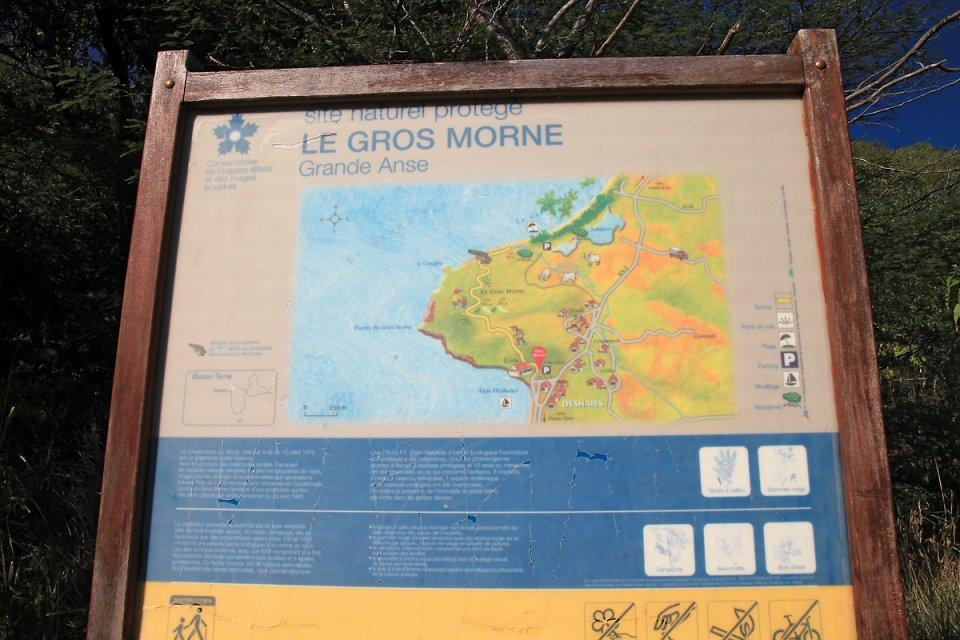 Carte du Gros Morne