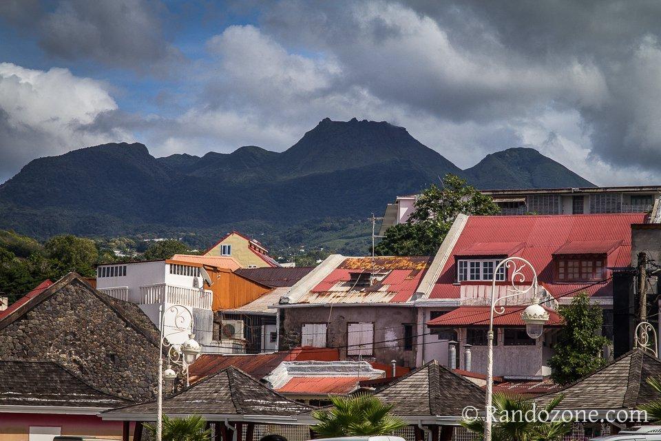 Volcan de la Soufrière en Guadeloupe