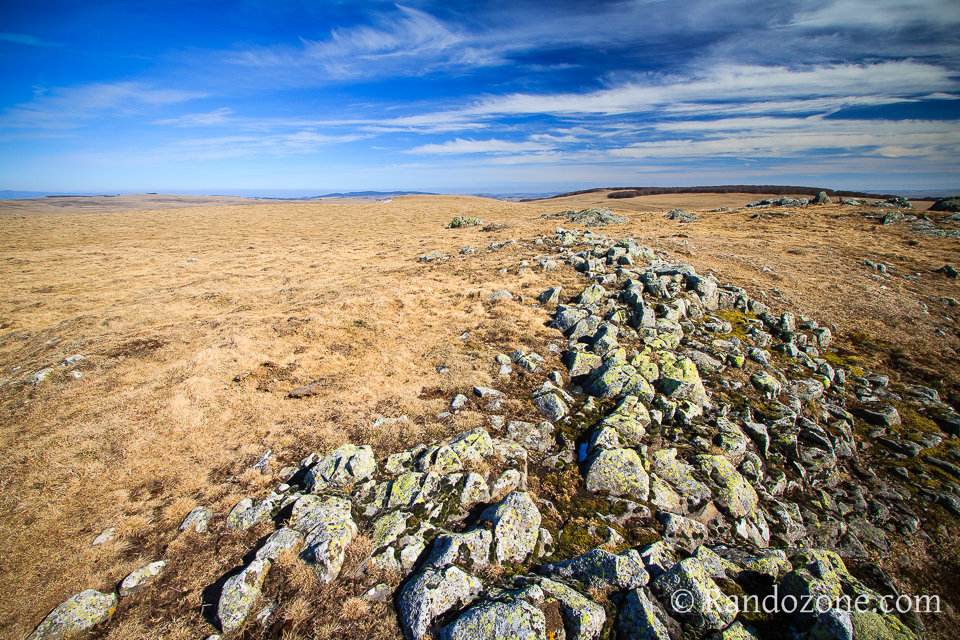 Randonnée sur le plateau de l'Aubrac