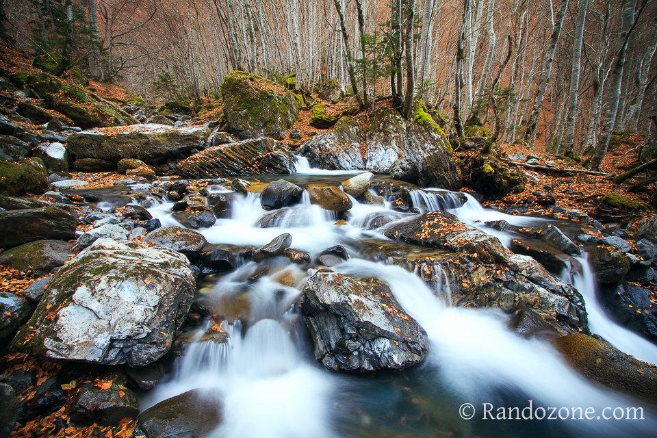 Couleurs d'automne dans les Pyrénées