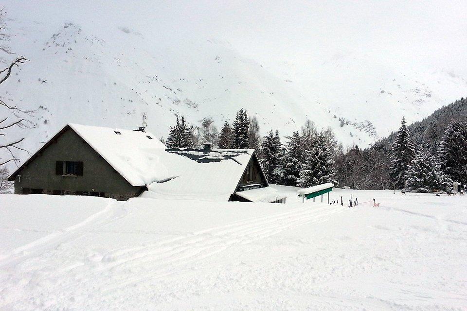 Chez Louisette sous la neige