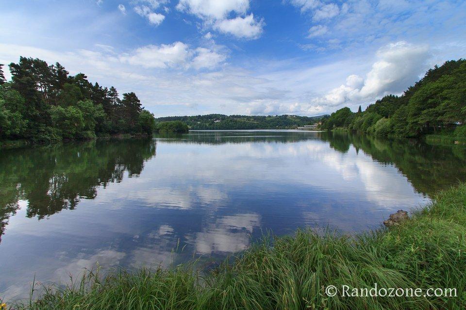 Lac d'Aydat en Auvergne