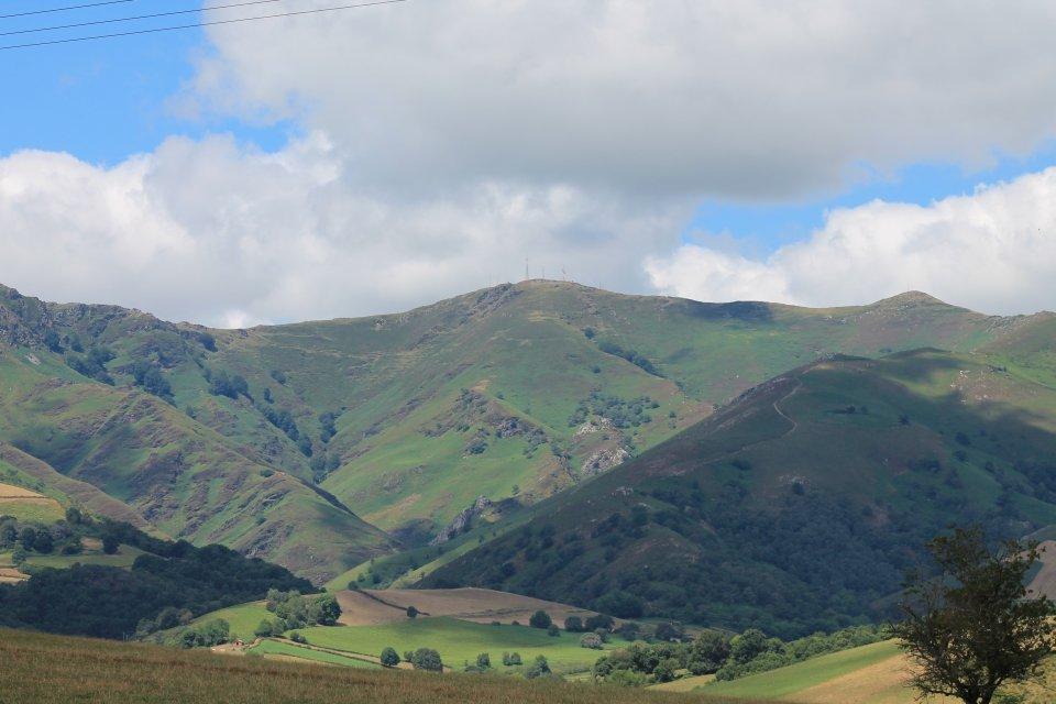 vue depuis Irissarry