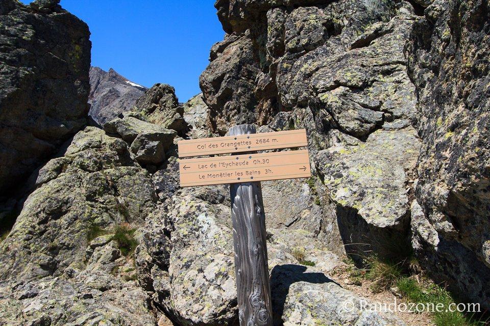 Col des Grangettes à 2684 mètres