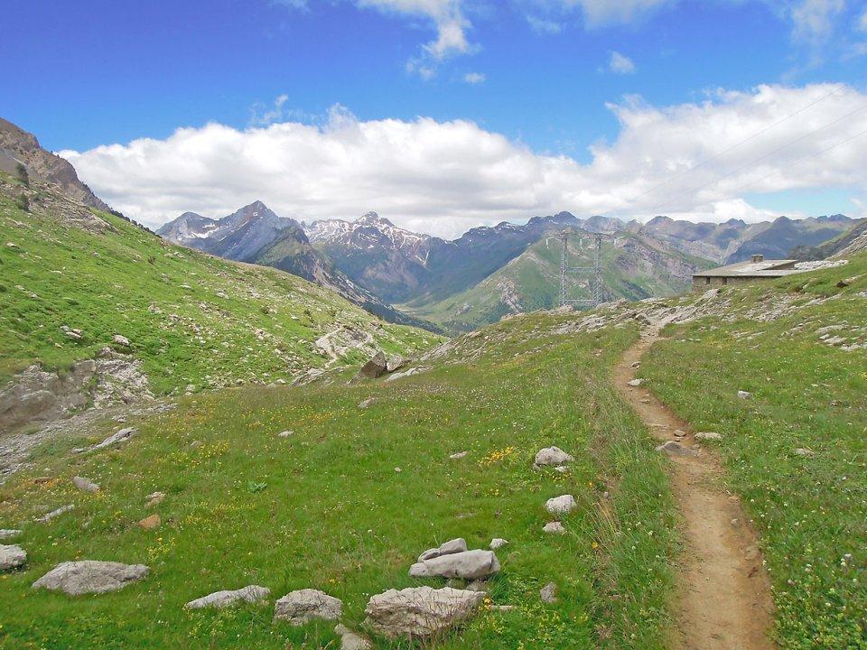 Descente depuis le Col de Boucharo