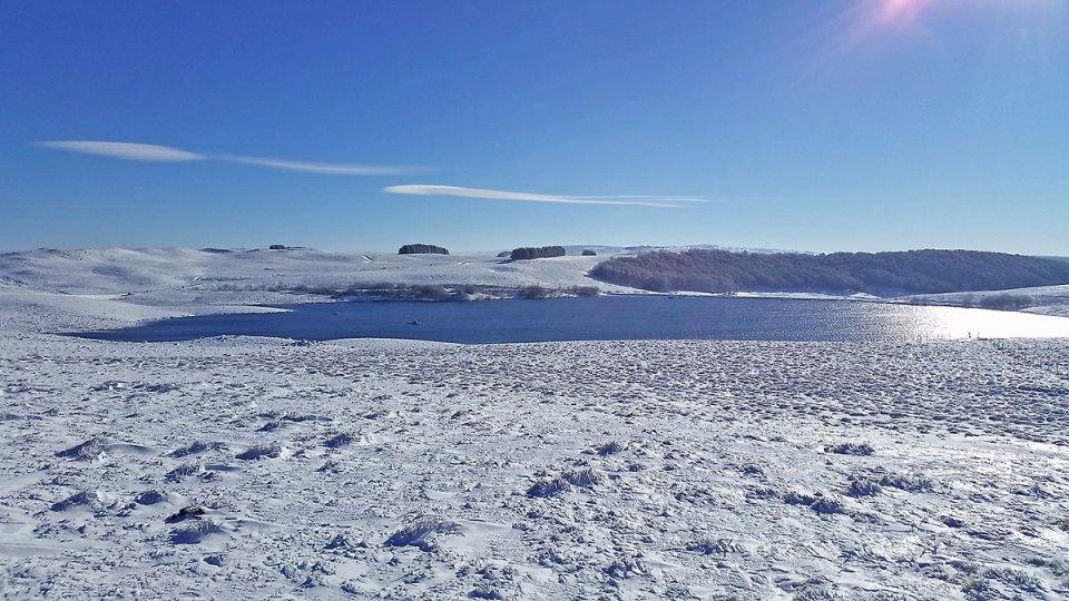 La neige autour du Lac des Moines