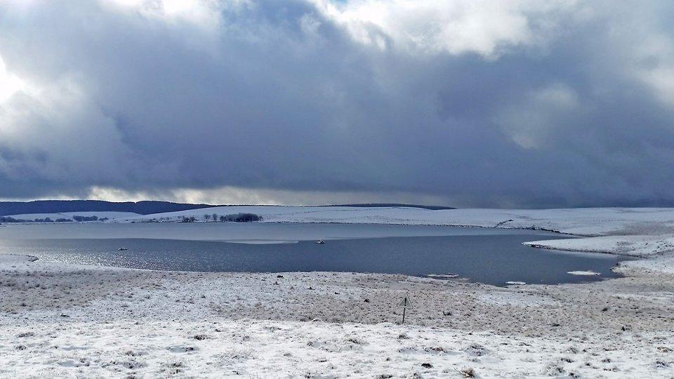 Le lac des Moines, tout près du village