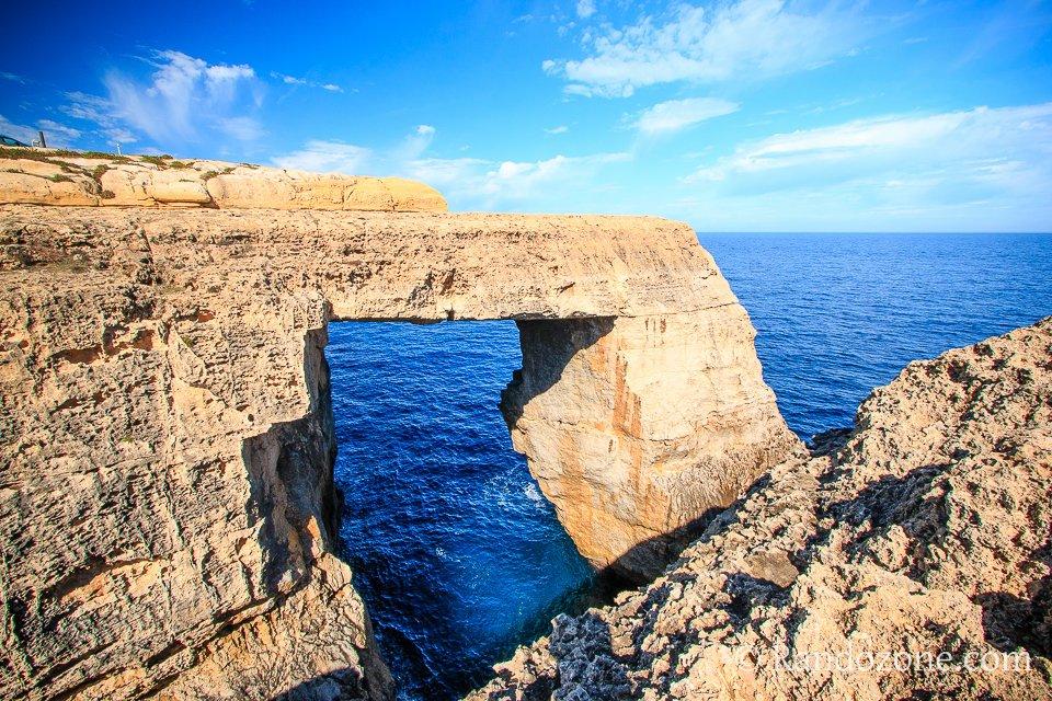 Arche naturelle sur l'île de Gozo