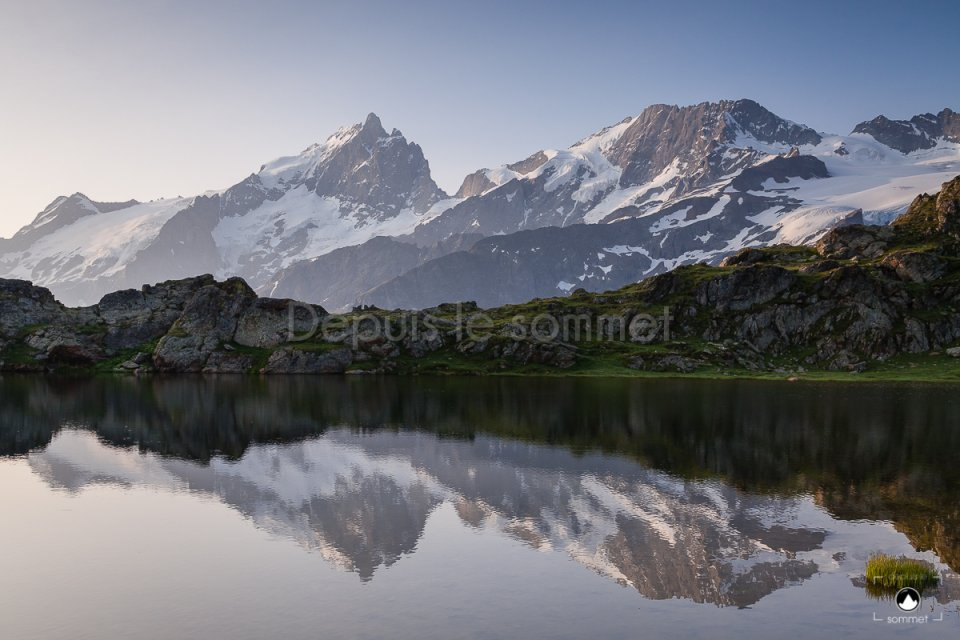 Lac Lérié et la Meije