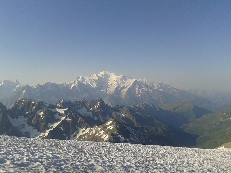 Au sommet du Mont Buet