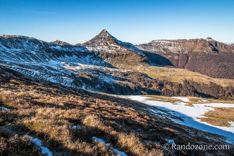 Difficile de rater le sommet du Puy Mary