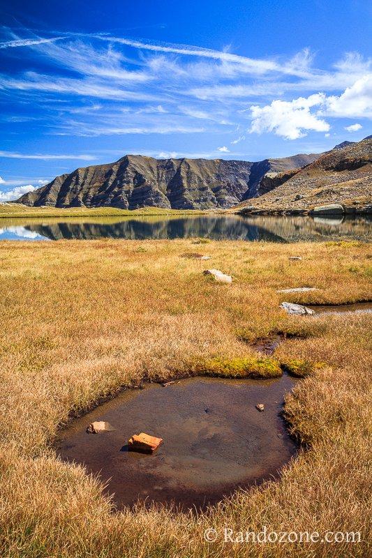 Zone humide près du lac Faravel