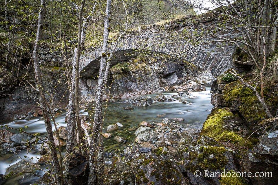 Pont entre Gèdre et Héas