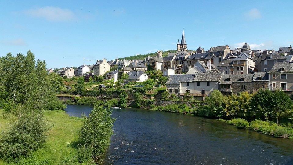 Le village de Saint Côme et le Lot