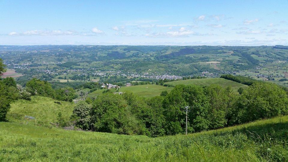 La vallée du Lot et Saint Côme d'Olt