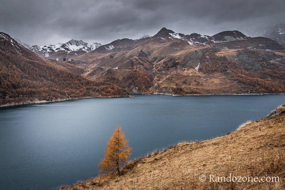Lac du Chevril à Tignes