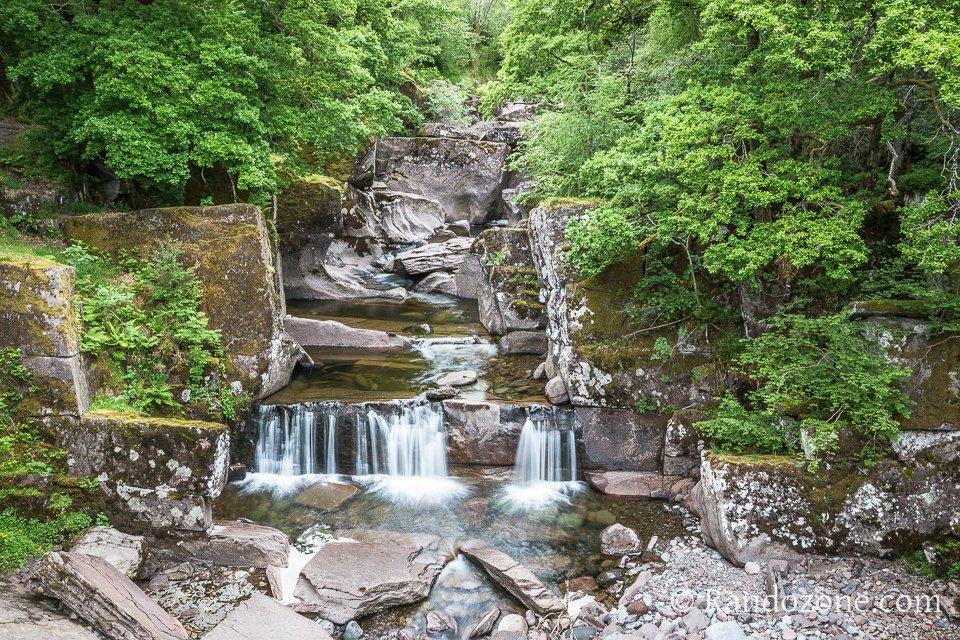 Chutes d'eau des Bracklinn falls