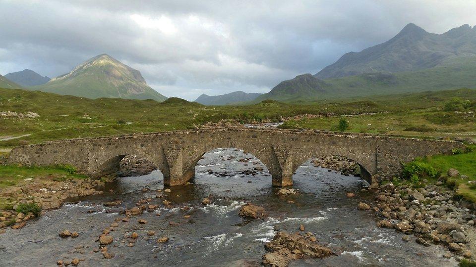 Le pont le plus photographié de l'île de Skye