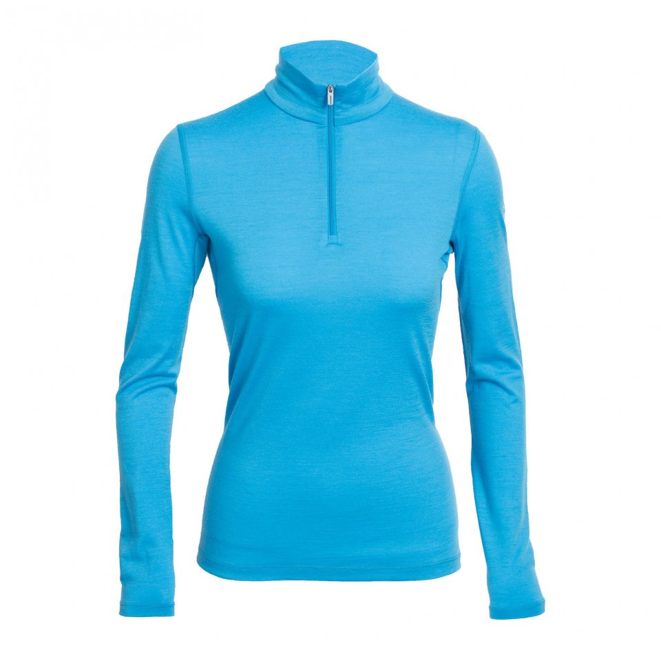 Tee-shirt Icebreaker Oasis Long Sleeve Half Zip