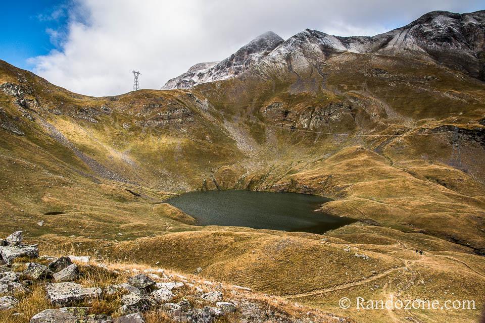 Au dessus du lac des Espécières