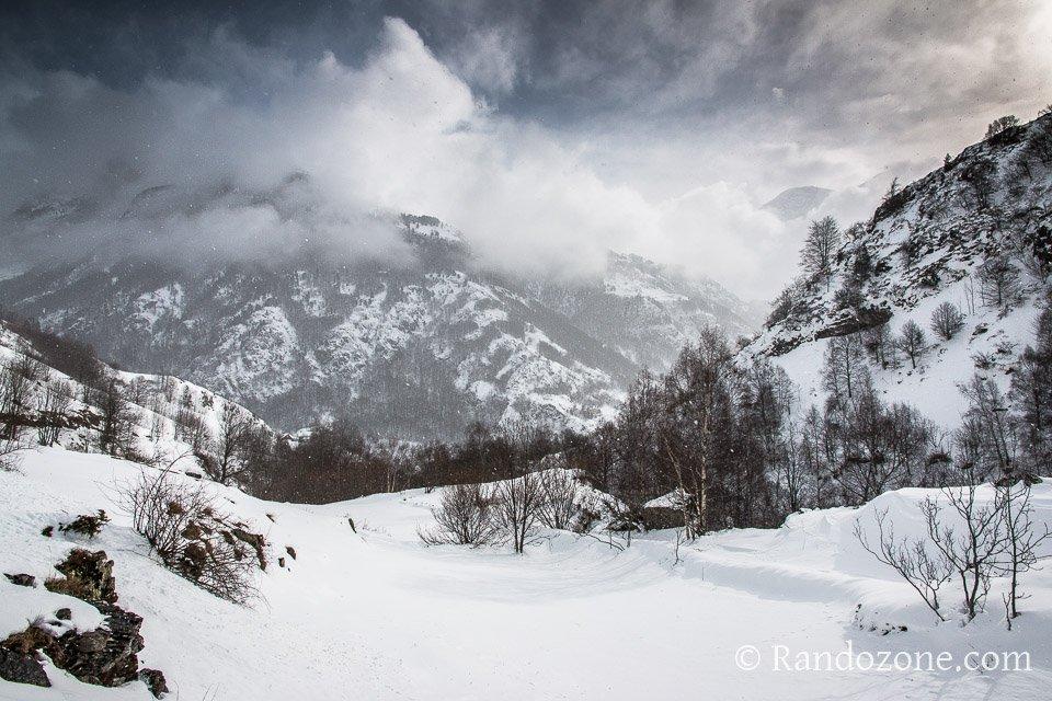 Il neige à Gavarnie