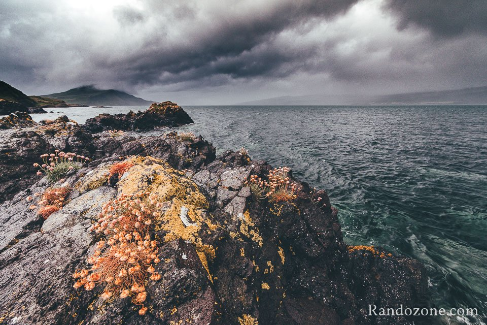 Mauvais temps sur l'île de Skye